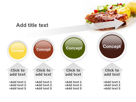 Pork Ribs with Potatoes PowerPoint Template Slide 13