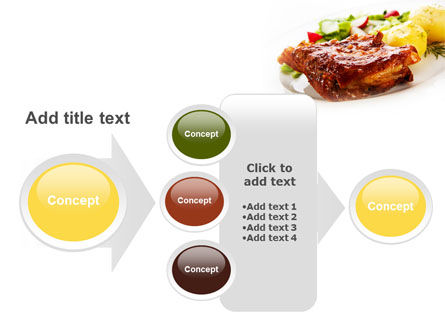 Pork Ribs with Potatoes PowerPoint Template Slide 17