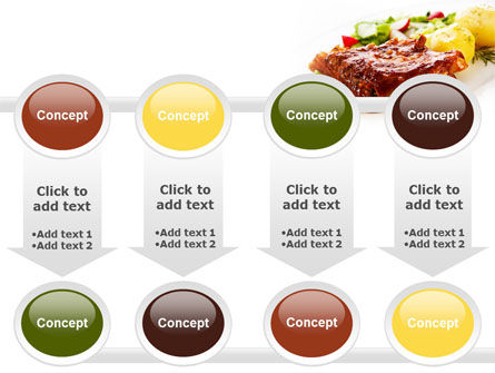 Pork Ribs with Potatoes PowerPoint Template Slide 18