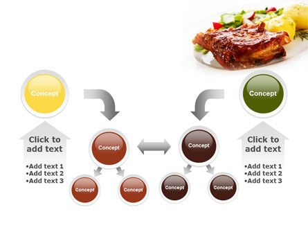 Pork Ribs with Potatoes PowerPoint Template Slide 19