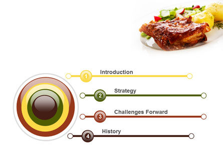 Pork Ribs with Potatoes PowerPoint Template Slide 3