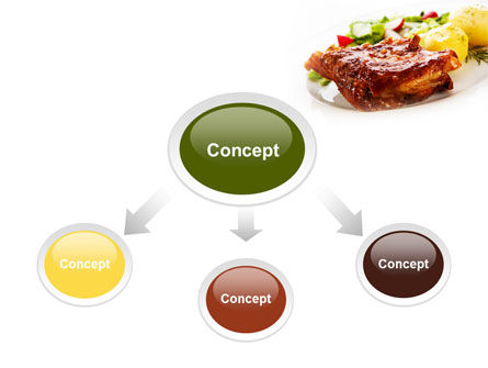 Pork Ribs with Potatoes PowerPoint Template Slide 4