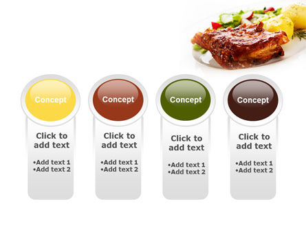 Pork Ribs with Potatoes PowerPoint Template Slide 5