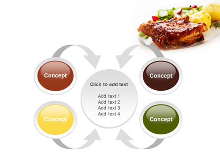 Pork Ribs with Potatoes PowerPoint Template Slide 6