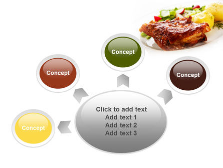 Pork Ribs with Potatoes PowerPoint Template Slide 7