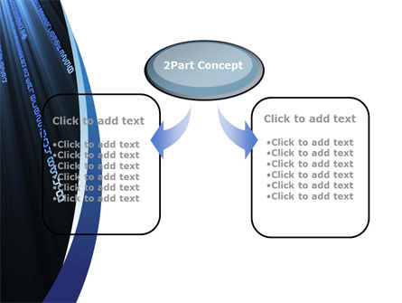 Digital Streams PowerPoint Template, Slide 4, 10011, Technology and Science — PoweredTemplate.com