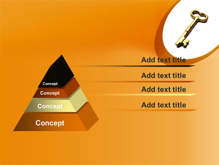 Golden Key PowerPoint Template Slide 12