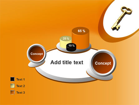 Golden Key PowerPoint Template Slide 16