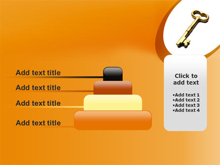 Golden Key PowerPoint Template Slide 8