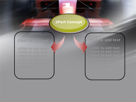 Formula One Bolide Racing PowerPoint Template Slide 4