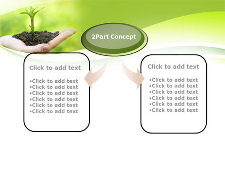 Plant Growth PowerPoint Template, Slide 4, 10014, Business Concepts — PoweredTemplate.com