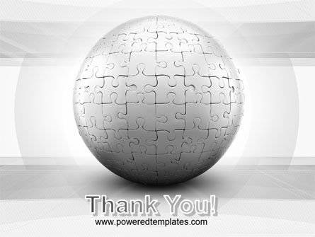 Puzzle In Sphere PowerPoint Template Slide 20