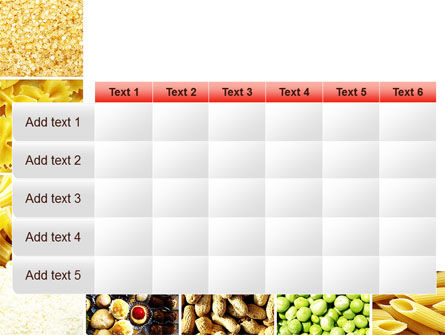 Vegetarian Foods PowerPoint Template Slide 15