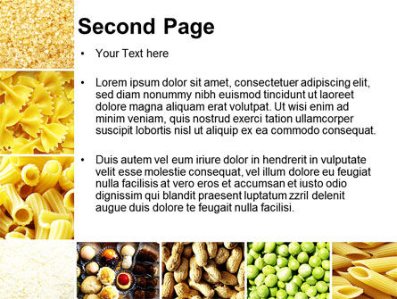 Vegetarian Foods PowerPoint Template Slide 2
