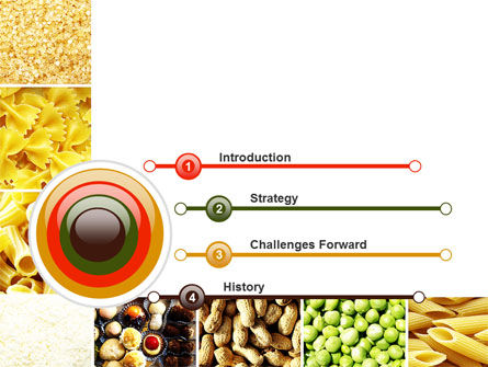 Vegetarian Foods PowerPoint Template Slide 3