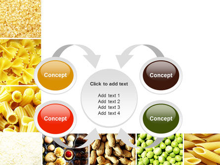 Vegetarian Foods PowerPoint Template Slide 6