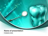 Medical: Modèle PowerPoint de instruments dentaires et stomatologiques #10019