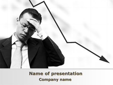 Business: Slump PowerPoint Template #10020