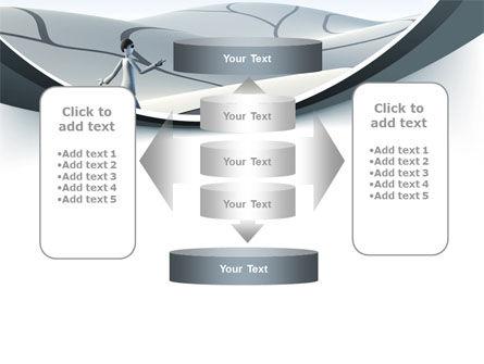 Virtual Desert PowerPoint Template Slide 13