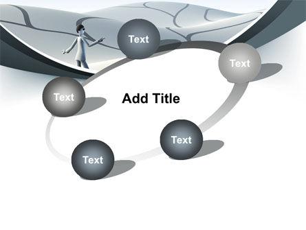 Virtual Desert PowerPoint Template Slide 14