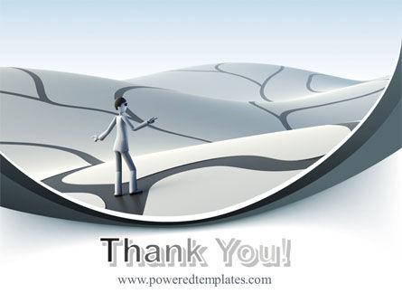 Virtual Desert PowerPoint Template Slide 20