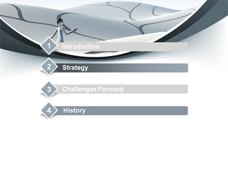 Virtual Desert PowerPoint Template, Slide 3, 10025, Consulting — PoweredTemplate.com