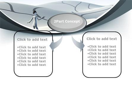 Virtual Desert PowerPoint Template, Slide 4, 10025, Consulting — PoweredTemplate.com