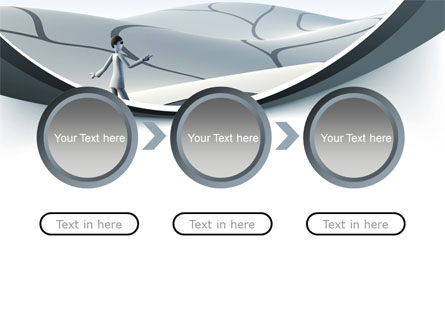Virtual Desert PowerPoint Template Slide 5