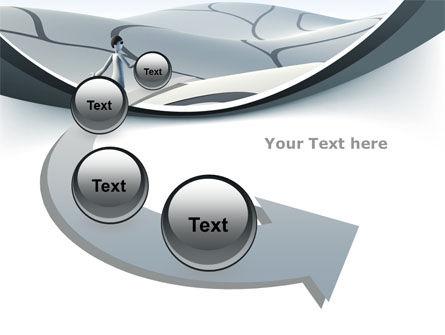 Virtual Desert PowerPoint Template Slide 6