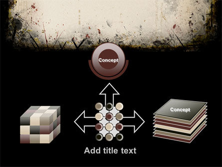 Gray Frame PowerPoint Template Slide 19