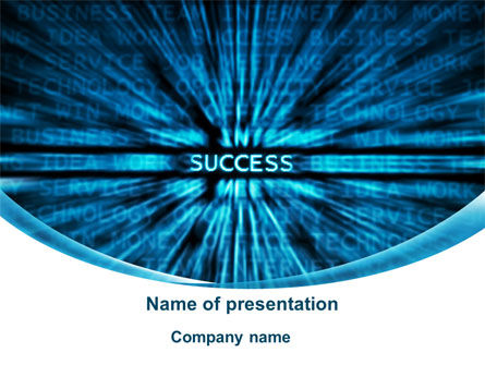 Components Of Success PowerPoint Template, 10029, Business — PoweredTemplate.com