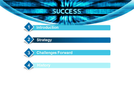 Components Of Success PowerPoint Template, Slide 3, 10029, Business — PoweredTemplate.com