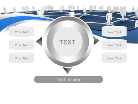 People In Connections PowerPoint Template Slide 12