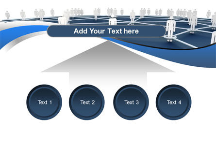 People In Connections PowerPoint Template Slide 8