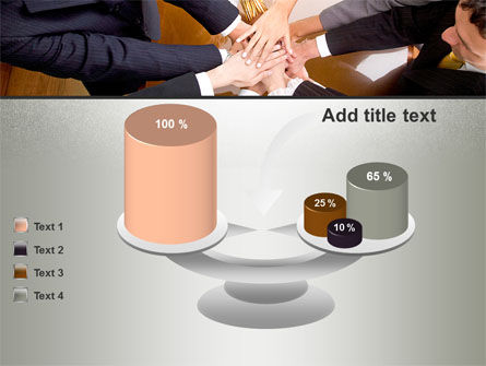 Working Collaboration in the Team PowerPoint Template Slide 10