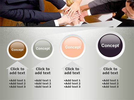 Working Collaboration in the Team PowerPoint Template Slide 13