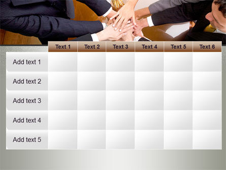 Working Collaboration in the Team PowerPoint Template Slide 15