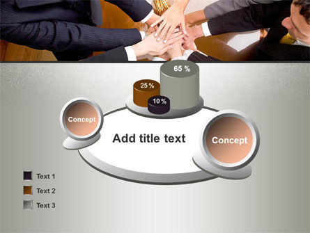 Working Collaboration in the Team PowerPoint Template Slide 16