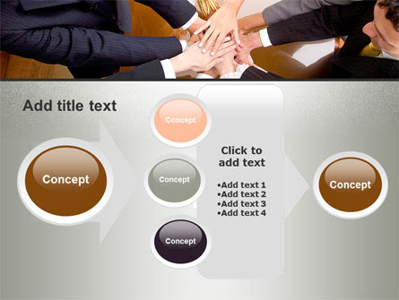 Working Collaboration in the Team PowerPoint Template Slide 17