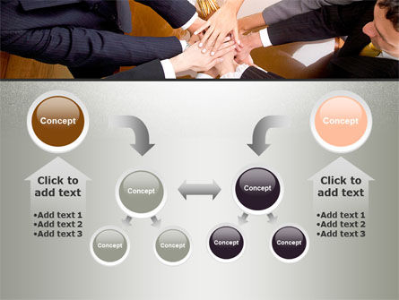 Working Collaboration in the Team PowerPoint Template Slide 19