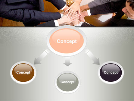 Working Collaboration in the Team PowerPoint Template Slide 4
