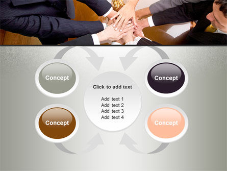 Working Collaboration in the Team PowerPoint Template Slide 6