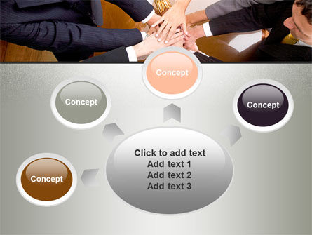 Working Collaboration in the Team PowerPoint Template Slide 7