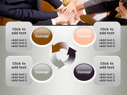 Working Collaboration in the Team PowerPoint Template Slide 9