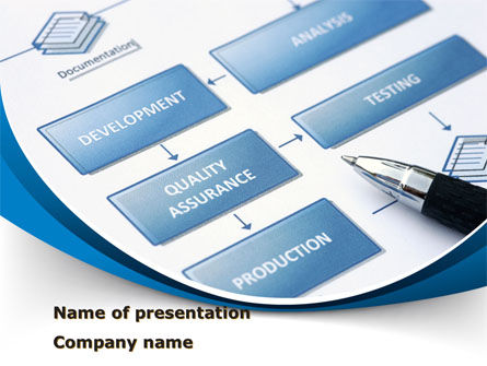 Business: Product Life Cycle PowerPoint Template #10033