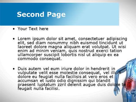Lumbar Spine PowerPoint Template, Slide 2, 10035, Medical — PoweredTemplate.com