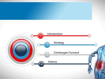 Lumbar Spine PowerPoint Template, Slide 3, 10035, Medical — PoweredTemplate.com
