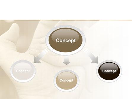 Baby's Hand PowerPoint Template, Slide 4, 10036, Religious/Spiritual — PoweredTemplate.com
