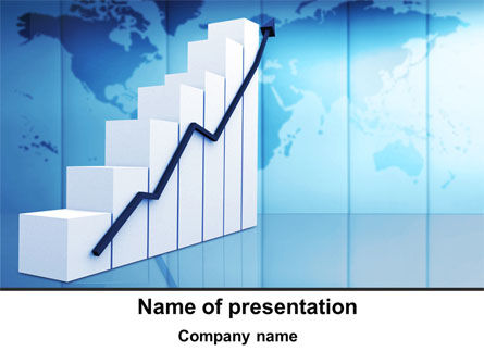 Growth of Indicators PowerPoint Template, 10037, Financial/Accounting — PoweredTemplate.com