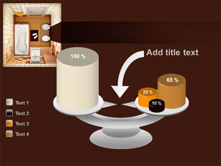 Plan Of Bathroom PowerPoint Template Slide 10